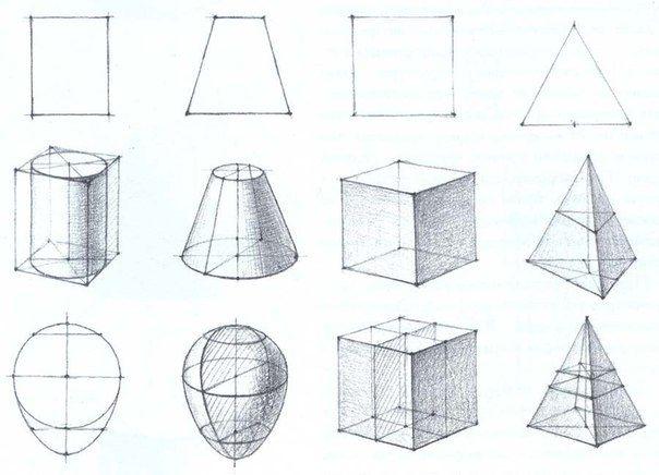 Основы выполнения графического рисунка   В графическом рисунке, особенно линейном, тоже используются тонкие и широкие линии, но главное их отличие в том, что в рисунки они «живут» — проводятся от руки, «строят» объем, подчеркивает тени, определяя границу светлого и темного. Линия на одной длины может иметь разную толщину. При помощи линий намечают количество планов на рисунках, и их в основном три. Ближний к нам первый план, или, вернее, предметы на первом плане, выделяю при помощи…