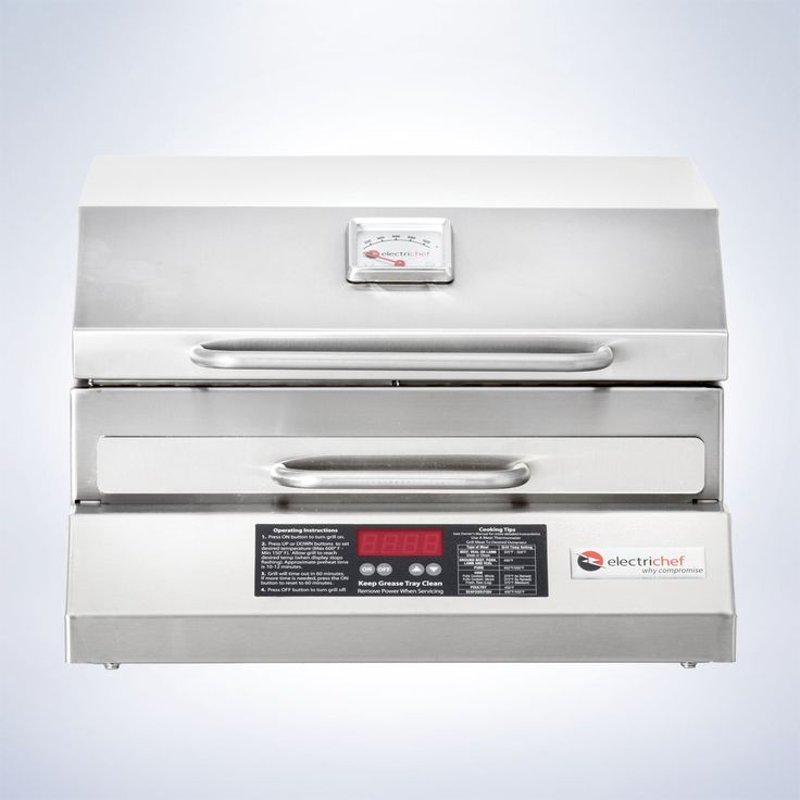 The ElectriChef Outdoor Grill is perfect for enhancing natural flavors and precise temperature control. This flameless electric grill makes is the ideal grilling station where gas and charcoal grills aren't allowed.