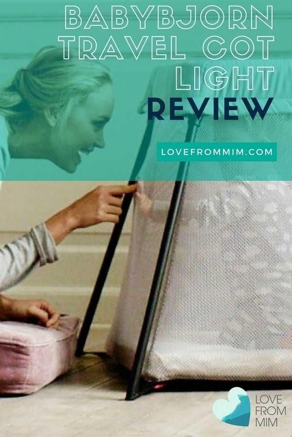 If you're looking for a travel cot for your little one, read this BabyBjorn Travel Cot Light review and find out why we love it!