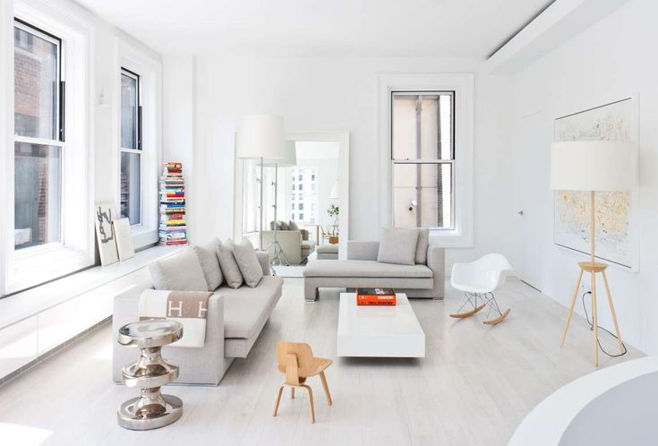 wadia complete 2 White and Bright Duplex in the Sky Pleases with Pops of Color