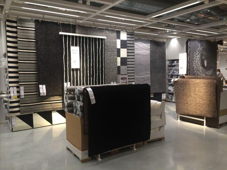 IKEA Alcorcon, Madrid, tonal rugs