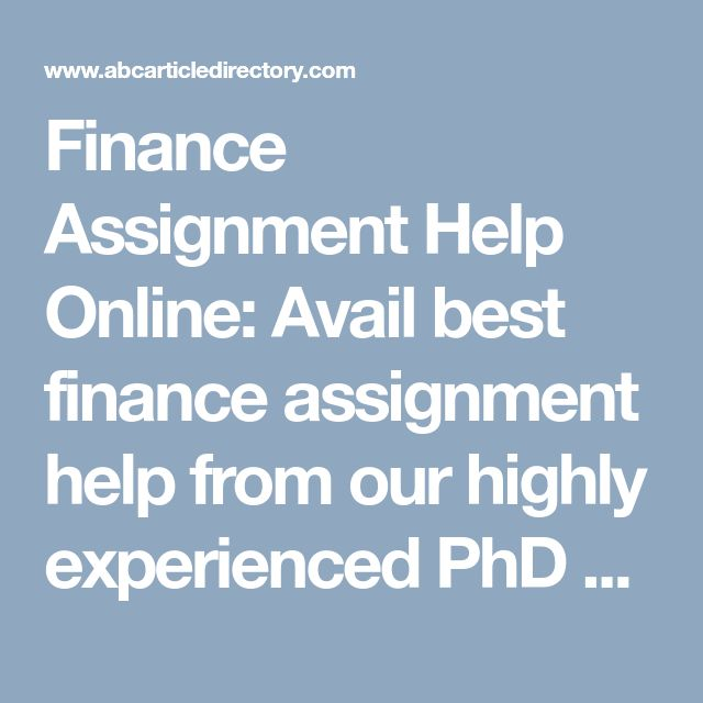 Best Accounting Assignment Help Services Images On