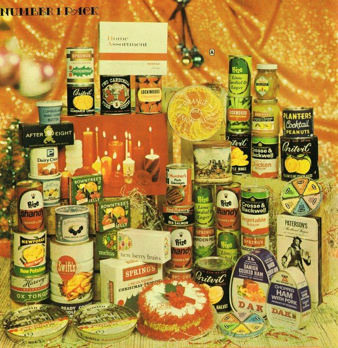 Check out the Christmas Hamper from 1969