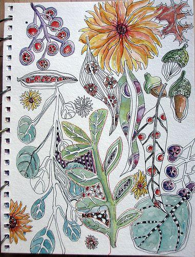 Doodling!!  @Jane Izard Izard Izard Izard Izard Izard LaFazio  @Matt Nickles Nickles Nickles Valk Chuah Sketchbook Challenge