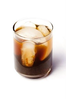 HOMEADE KALUHA: 6 c brewed coffee (don't skimp-use your favorite)... 1 # light brown sugar  3 1/2 T vanilla...  1/2 liter of vodka...  While the coffee is still hot, mix in the brown sugar.  Let cool.  Mix in vanilla and vodka.  Serve over ice, in mixed drinks li