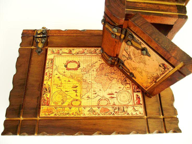 ξυλινα κασελακια και μπαουλακια στο http://amalfiaccessories.gr/home-gifts/#