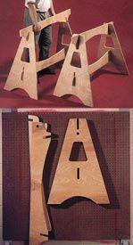 Derribo Cabrillas Plan de Trabajo de la madera, Taller & Tool Jigs Bases y soportes Taller y Jigs $ 2 Planes de tienda