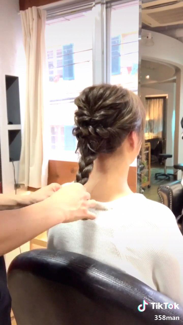 ✂︎ヘアアレンジ✂︎ #超ヘアスタイルgp#ヘアアレンジ#ヘアスタイル#超十代#TikTokオーディション2019#おしゃれ大賞#hair#hairstyle #braidsforlonghair