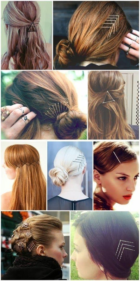 Como usar grampos no cabelo de várias formas diferentes #cabelos #hair #grampos #penteados #hairstyle #beleza #beauty #penteadoscomgrampo #gramposdecabelo #penteadoslindos #penteadosfáceis