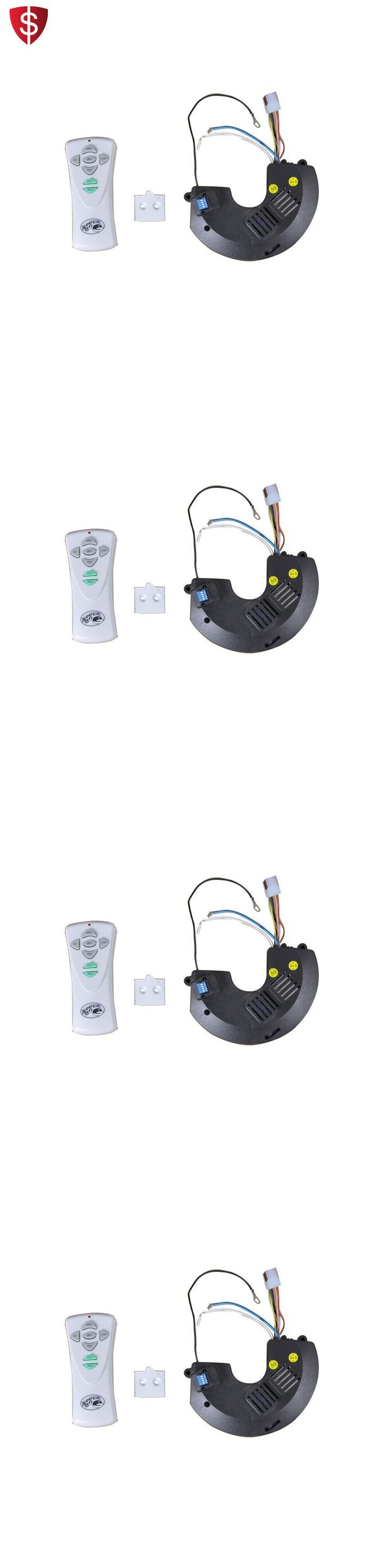 Lighting Parts and Accessories 20705: Wireless Ceiling Fan Remote Dimmer Control Speed Pack Handheld Light Lamp -> BUY IT NOW ONLY: $56.02 on eBay!