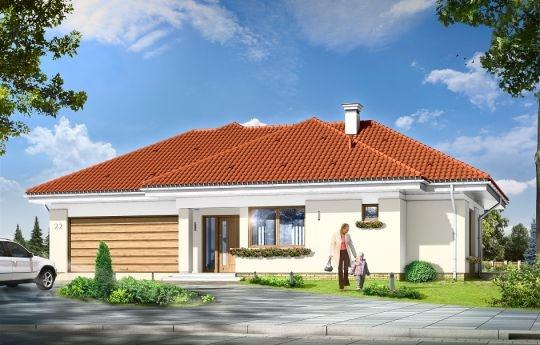 Projekt Komfortowy 3 to dom jednorodzinny dla rodziny cztero-pięcioosobowej. Budynek parterowy, przekryty wielospadowym dachem, ze strychem, który można zaadaptować na dodatkowe poddasze użytkowe. Dom Komfortowy 3 jest mniejszym wariantem popularnego projektu Komfortowy. Wygląd zewnętrzny domu łączy w sobie elementy nowoczesności i tradycji.