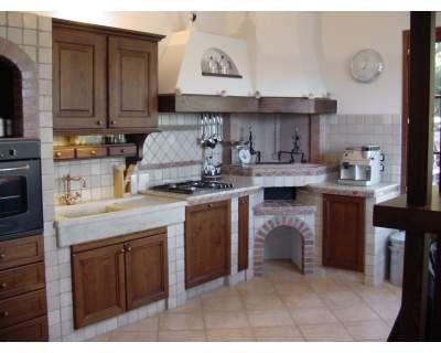 Cucina in finta / vera muratura... a Prato - eBay Annunci