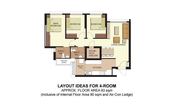 Telok Blangah ParcView - 4-room