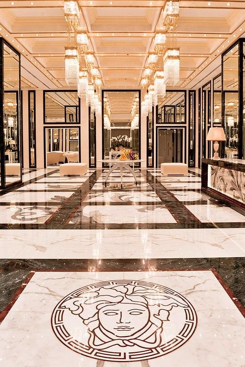 Interiors Designed By Versace Home Www. Find This Pin And More On Marble  Floor Design ... Part 95