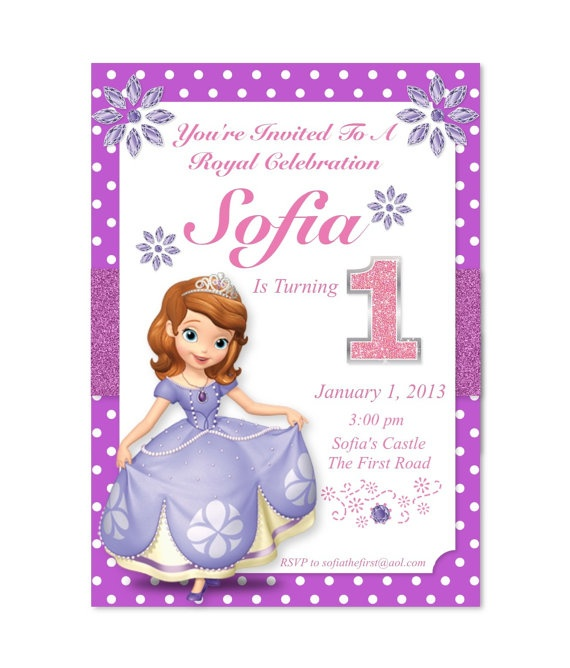 15 best images about Sofia the First Party Ideas on Pinterest