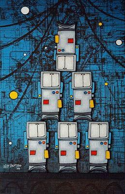 Nee Zealand artist Ted Dutch