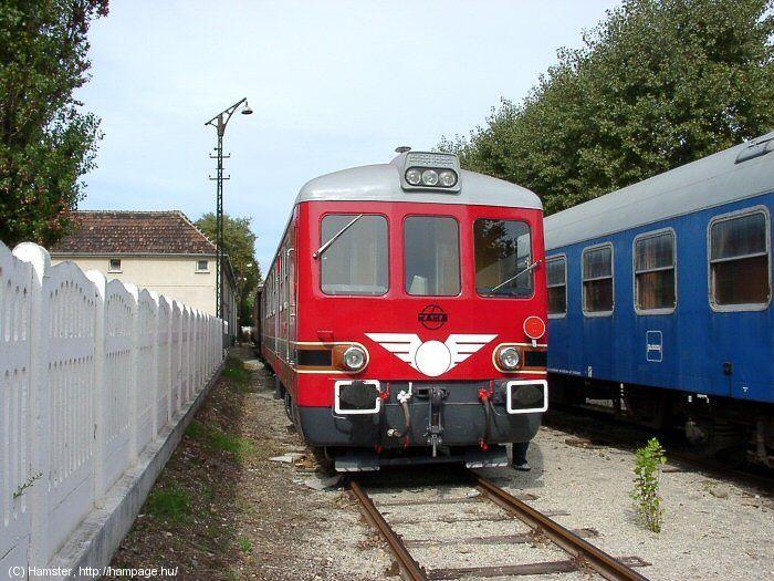 Rába Balaton sínbusz Ba701