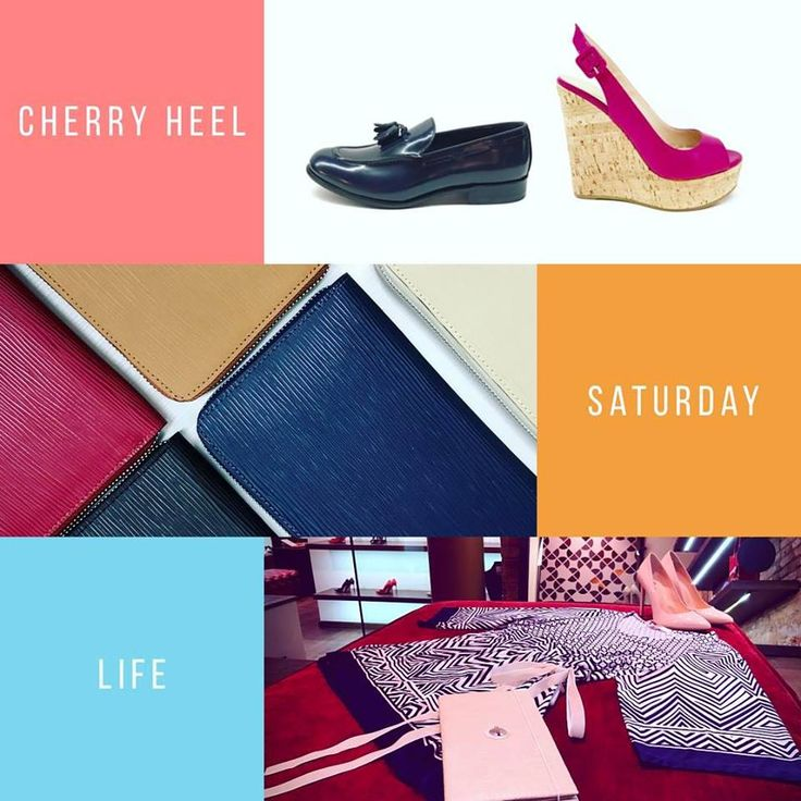 💜Saturday Mood💙 If you are in Barcelona today, come & visit us @cherryheel 🌺 ☀️Spring collections of shoes, accessories & clothing 🍭Fresh ideas for Your new season wardrobe 🏝Mediterranean shopping experience in the heart of Barcelona 🍒🥂💋 #CherryHeel #Barcelona #saturday #shopping #luxury #boutique #madeinitaly #shoes #clothes #accessories #happy #experience #blogger #lifestyle #city #decompras #sabado #instafashion #барселона #шоппинг #суббота #мода2017 #стиль #испания
