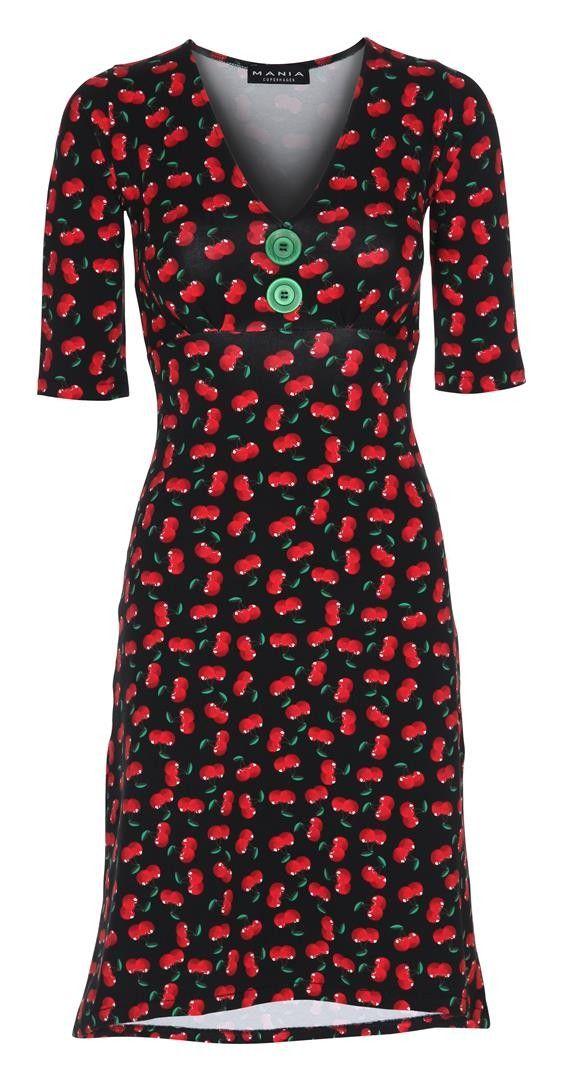 Pin-Up Dress Cherry – MANIA Copenhagen