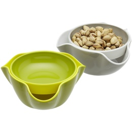 Great for eating sunflower seeds, pistachios, edamame