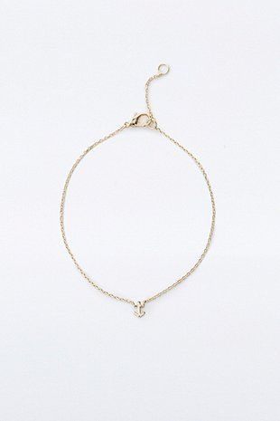 Cord Crescent Choker Necklace - Urban Outfitters