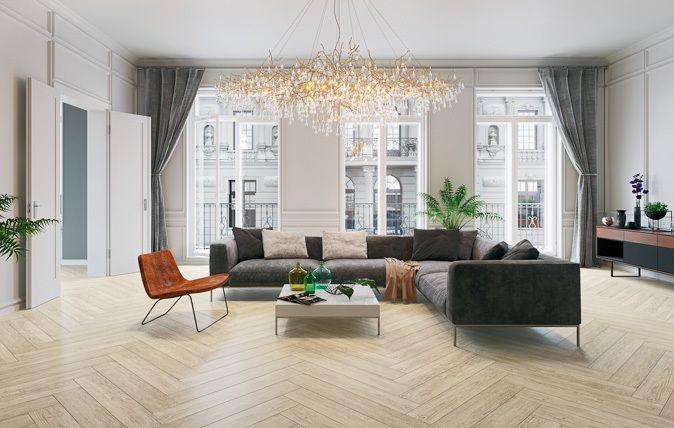 Powstała z inspiracji naturą kolekcja Foresta pozwala uspokoić umysł wspomnieniem leśnej głuszy, nie opuszczając wnętrza komfortowego salonu. Zróżnicowany wzór zdobiący płytki w odcieniach Beige, Brown i Grys wpisuje się  zarówno w estetykę rustykalną, jak i minimalistyczną, w zależności od preferencji domowników. klasyka | styl | wnętrze | inspiracja | dom | mieszkanie | łazienka | salon | kuchnia | classy | classy interior | interior I bathroom inspiration I home inspiration I ceramic