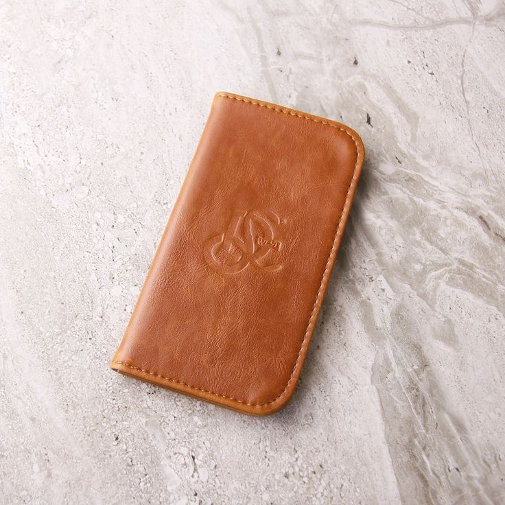The Original LD West® Wallet - Cognac