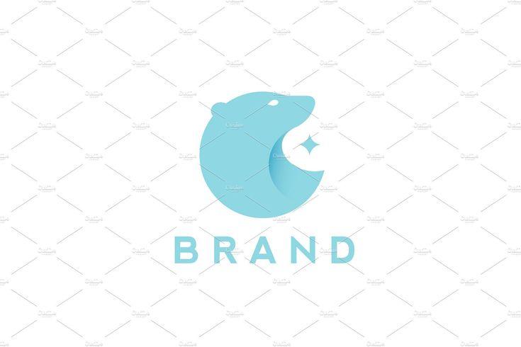 polar bear logo design logo design bear polar animal. Black Bedroom Furniture Sets. Home Design Ideas