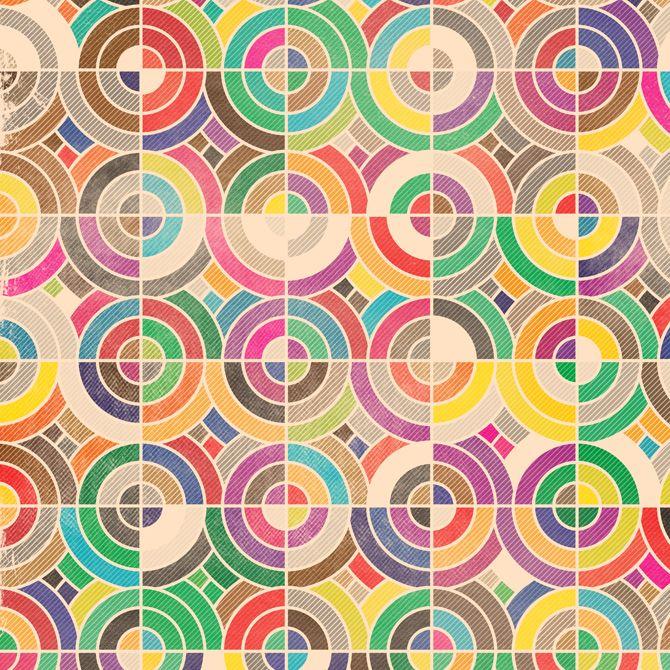 excites.co.uk – Geometric Retro Grunge