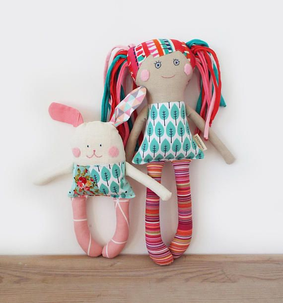 Set for newbornTextile First Doll Bunny Baby Toys Gift for