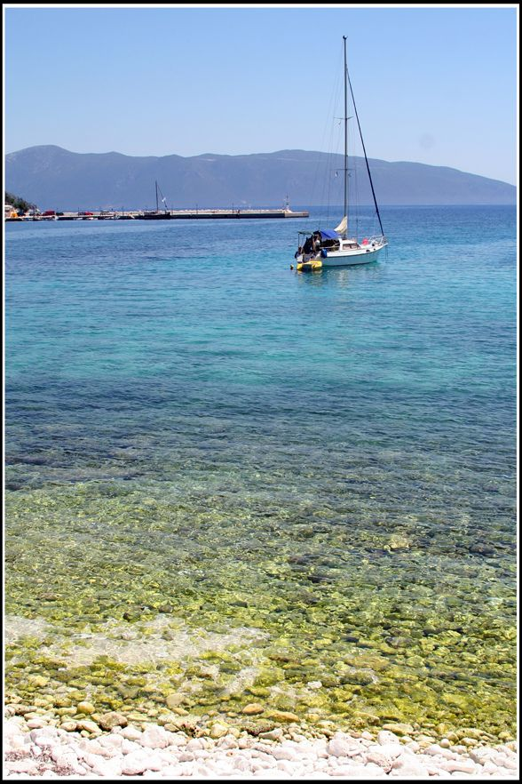 Agia Effimia on de island of Kefalonia, Ionian Islands_ Greece