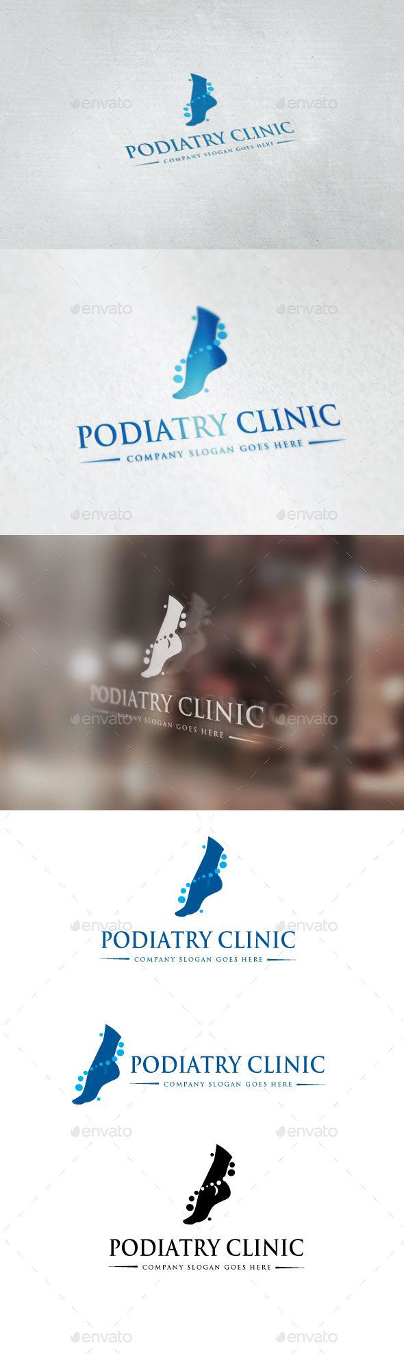 Podiatry Clinic Logo