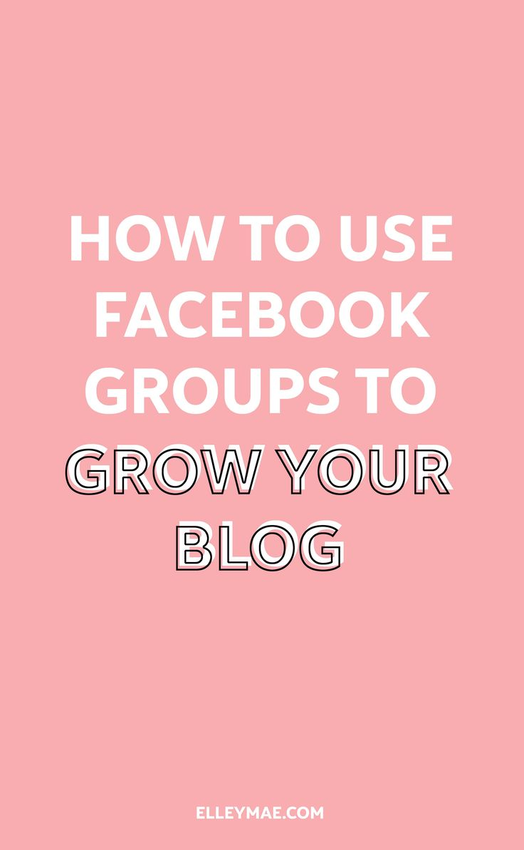36 Of The Best Facebook Groups For Bloggers   Grow your blog by joining other like-minded creative entrepreneurs, social media influencers & bloggers in these 36 Facebook groups for bloggers. Promote your blog posts, learn new tricks & build relationships with others and take advantage of being an active member in these Facebook groups for bloggers. Your blog will thank you later!   Learn more at ElleyMae.com