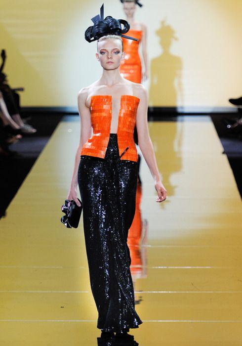 Armani.Privé Fall, Collection Slideshow, Couture Collection, Giorgio Armani, Armani Concerns, 2011 Couture, Haute Couture, Fall 2011, Armani Privé