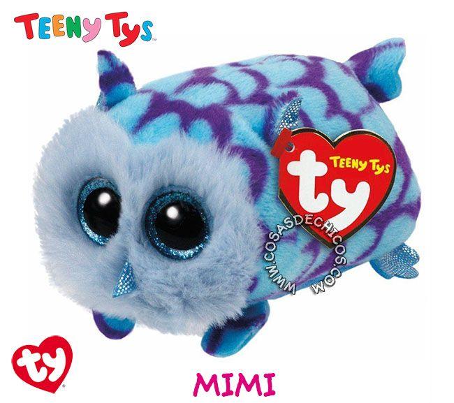 #Nuevos #Peluches #TeenyTys #Originales #TY  #Importados.  Irresistibles y adorables peluches Teeny Tys. Super suavecitos. Con enormes ojos brillantes. Medida: 9 cm. Coleccionalos!  Importador oficial: #Wabro.  #CosasDeChicos #Mimi #Buho #Owl #Lechuza #Teeny #Tys