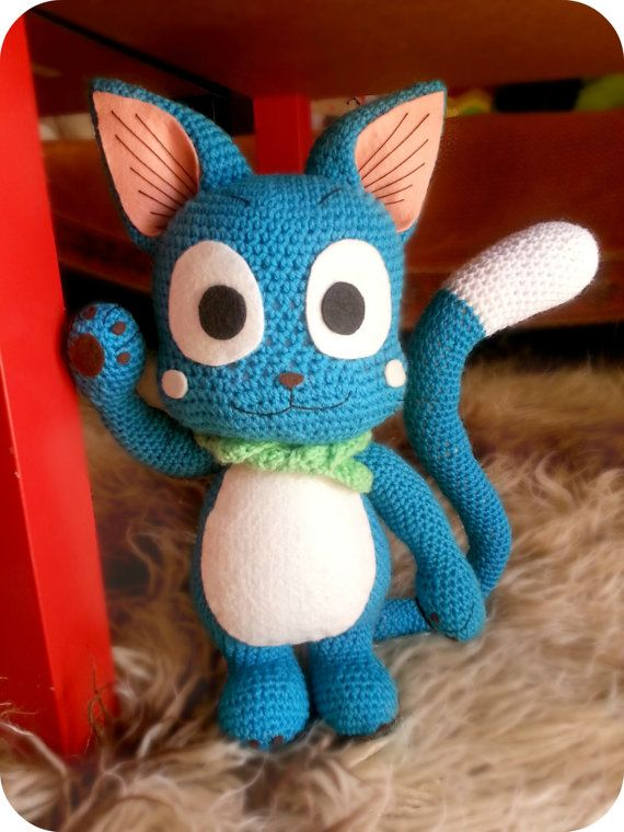 Free Amigurumi Fairy Pattern : Fairy Tails Happy Amigurumi INSTRUCTIONS ONLY Awesome ...