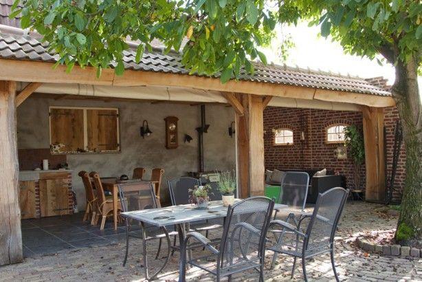 tuin houten overkapping - Google zoeken
