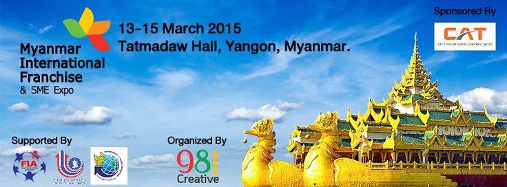 Myanmar International Franchise & SME Expo 2015 Registration
