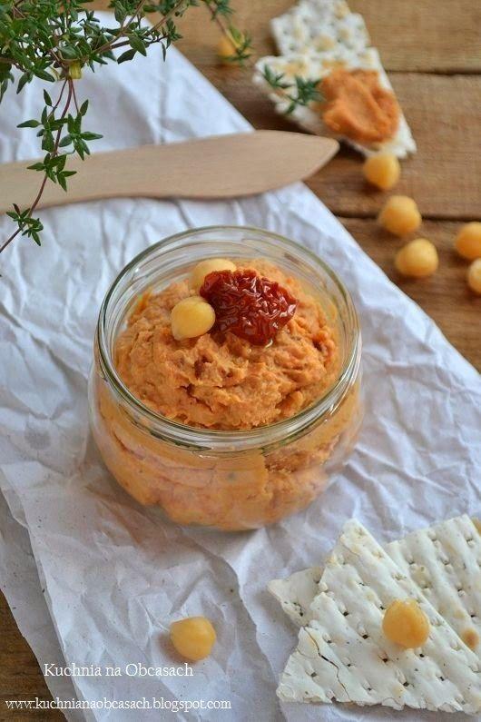 kuchnia na obcasach: Pasta z ciecierzycy z suszonymi pomidorami