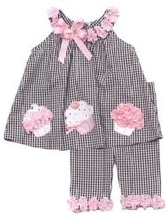 birthday cupcake capri set