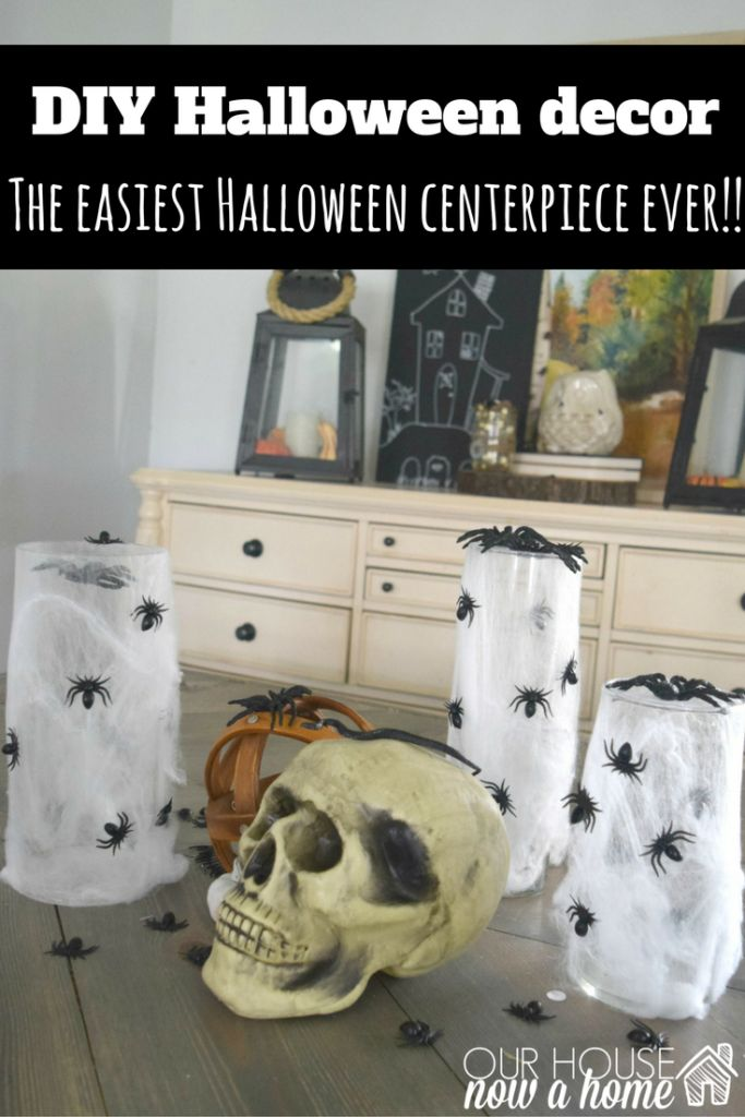 the easiest halloween craft ever - Last Minute Halloween Decorations