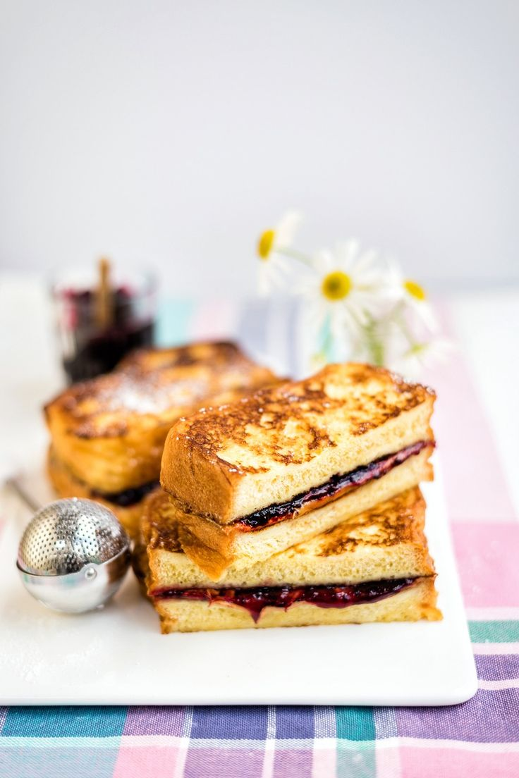 PB&J French Toast - a delicious breakfast or sweet treat