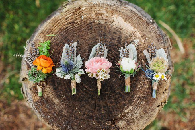 The Poppy Studio florists boutineers