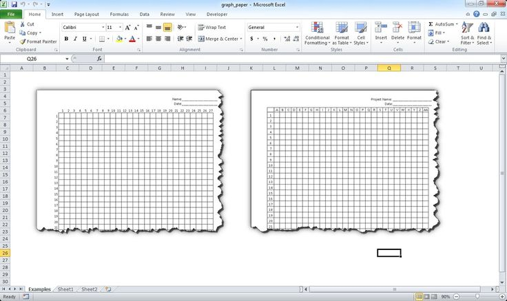 Make Graph Paper in Excel Knit and Chrochet Pinterest Graph - excel graph paper