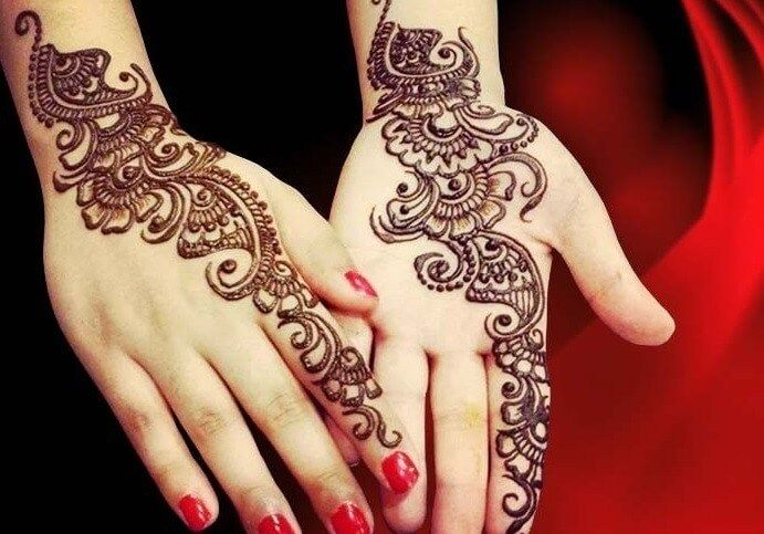 Henna Simple Hands Easy And Beautiful Simple Henna Image Henna