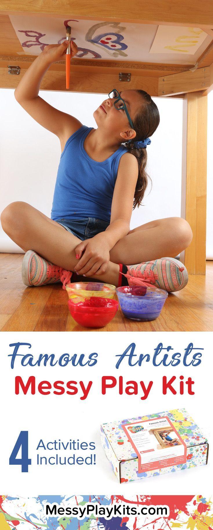 Art Kit For Kids Craft Kit Monthly Subscription Box For Kids