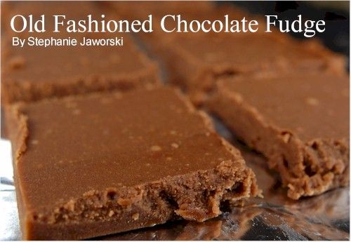 Chocolate Fudge:2 cups (400 grams) granulated white sugar,2 squares (2 ounces)unsweetened chocolate, chopped,2 tablespoons light corn syrup,2/3 cup half-and-half (or light cream),2 tablespoons unsalted butter, cut into pieces,1/8 teaspoon salt,1 teaspoon pure vanilla extract