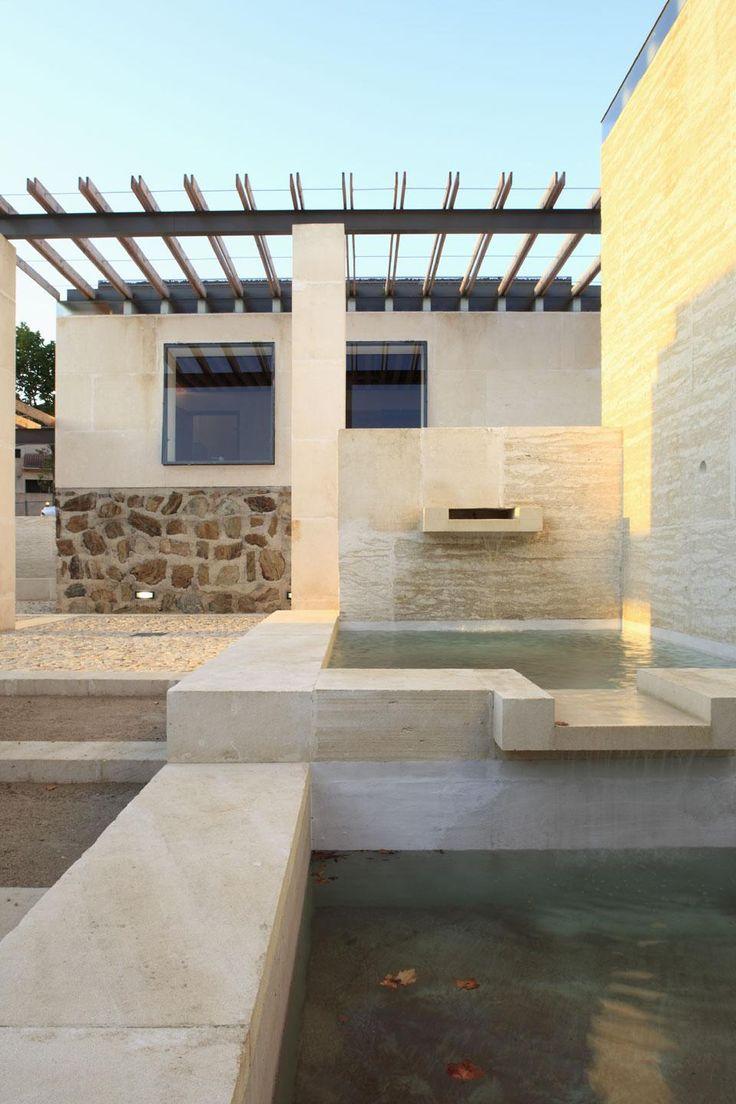 Wine museum in Corsica, Perraudin Architectes