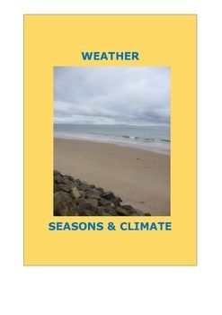Weather, seasons and climateThe best of digital resources and more to excite you and your students about weather.CONTENTS: Investigation - Seasons, Water Cycle, Clouds, Climate, Weather and Dangerous Weather.Activities, Experiments, Rhymes and poetry, Books about Weather, Games, Videos, Interactive sites, Cloud Charts, links to Nasa - Weather Bureaux, Weather Station webcams, Radar, Assessment Ideas, Digital Weather Records and Resource List.More great resources on…