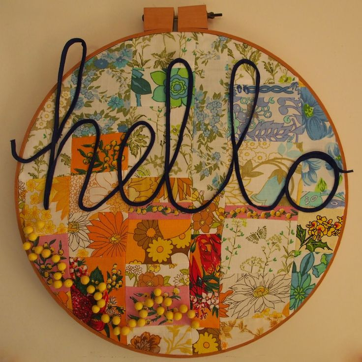 hello wallhanging